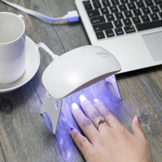 6W USB Portable Mini Nail Dryer