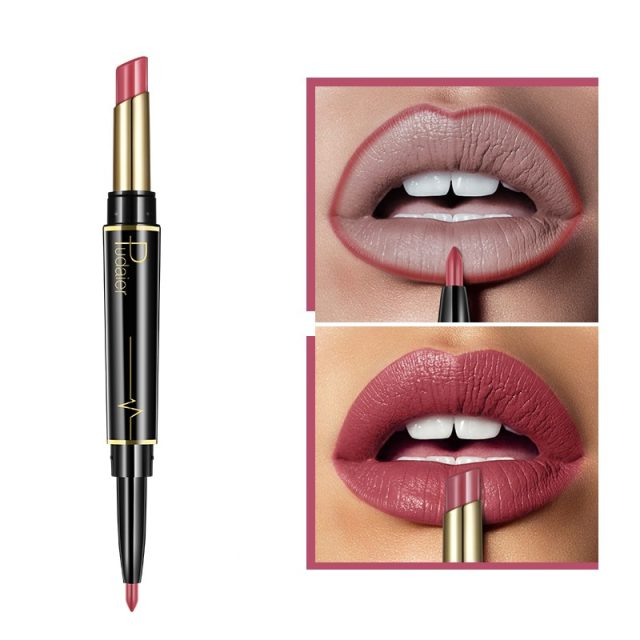 Wateproof Matte 2 in 1 Lipstick