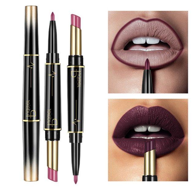 Wateproof Matte 2 in 1 Lipstick