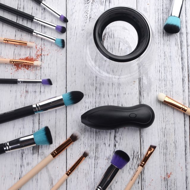 Electric Makeup Brush Cleaners