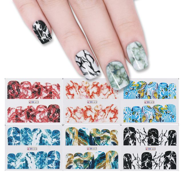 Marble Nail Stickers