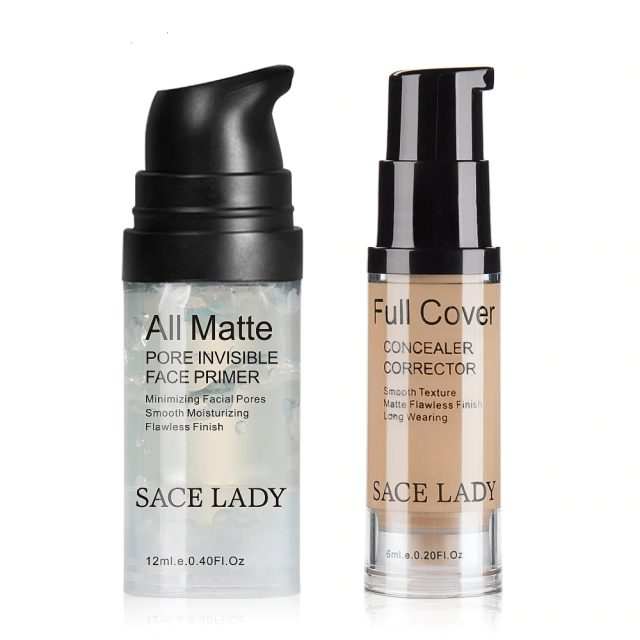 Foundation Primer Concealer Cream