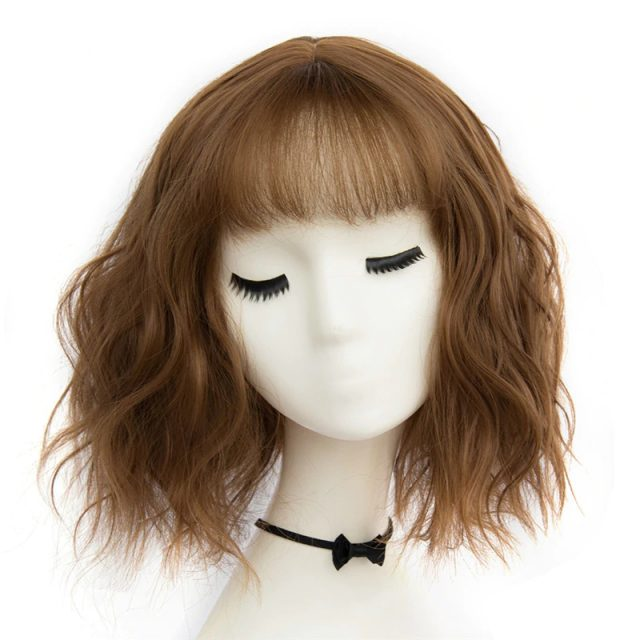 Synthetic Short Wavy  Wigs